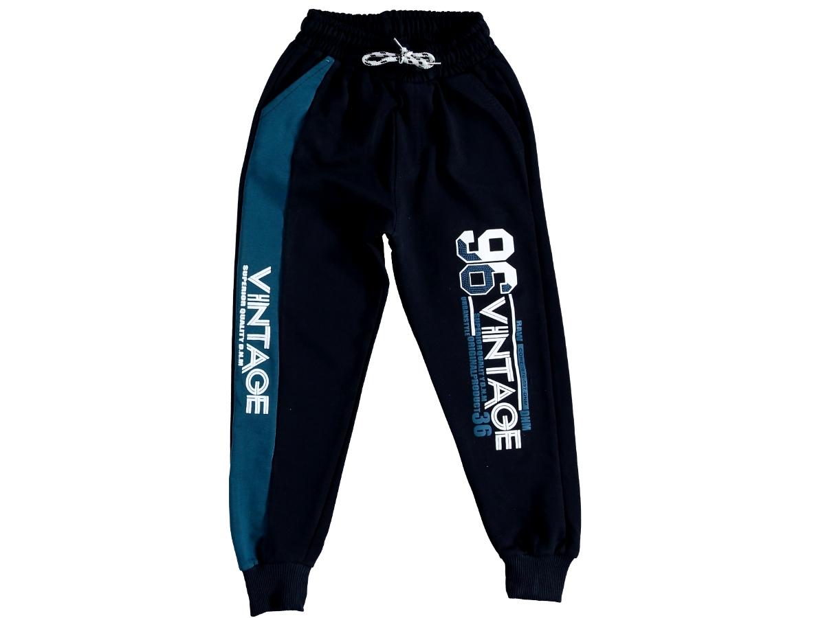 Спортивные штаны 13/16 лет тёмно-синие 307101