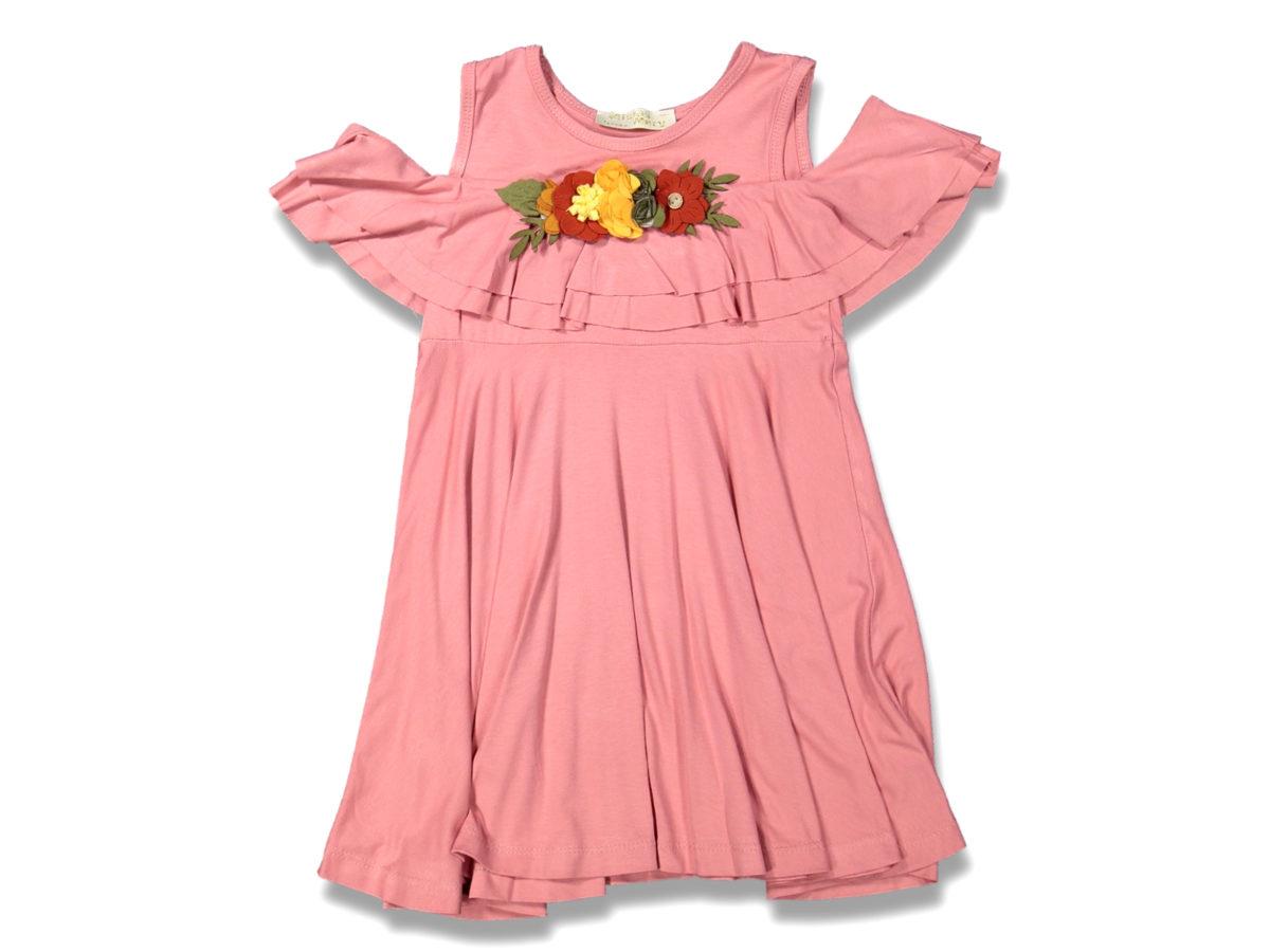 Платье на девочку розовый 5/8 лет 99639